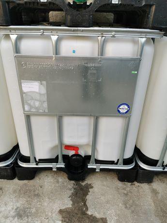 Zbiornik beczka paletopojemnik mauser ibc 1000 litrów na deszczówkę