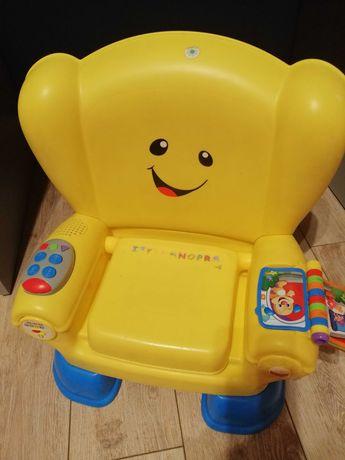 Krzesełko uczydelko Fisher Price