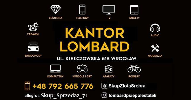 Skup Złota/Srebra/Wyrobów - Lombard Wrocław - GOTÓWKA OD RĘKI