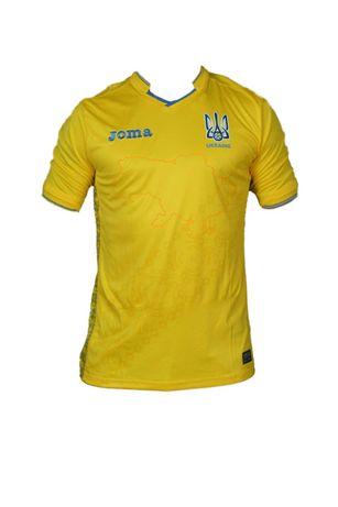 Нашумевшие футболки сборной Украины для ЕВРО Joma желтые