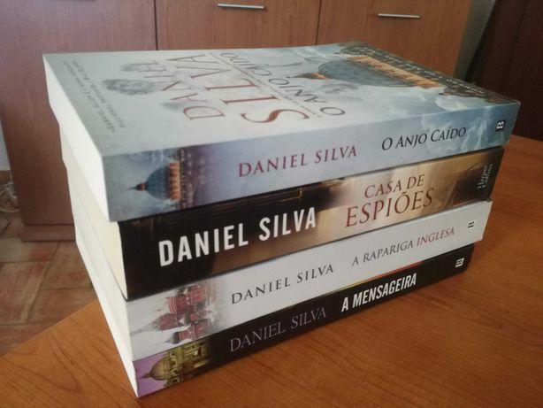 Vários Livros Daniel Silva