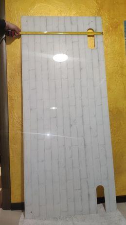 Продам Новое каленое стекло для кухни 168.5 см на 72.5 см