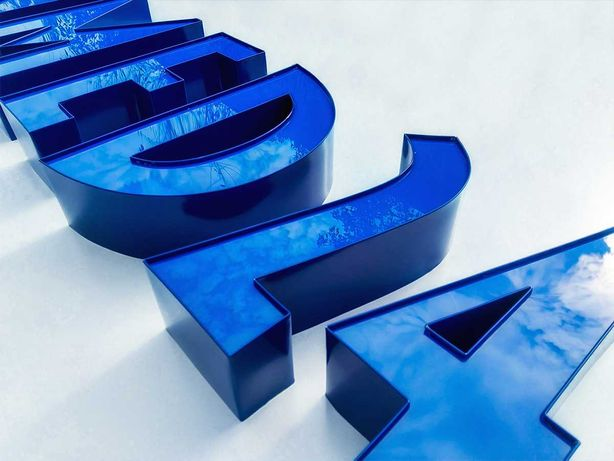 Kasetony / Litery 3D LED / Styrodur / Blokowe / PRODUCENT / Montaż