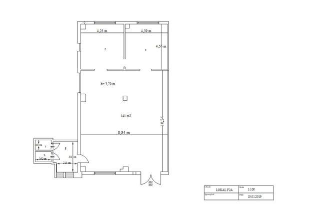 Handel i usługi, lokal użytkowy, ul. Wilsona 30 Częstochowa, 141 m2