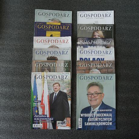 Gospodarz Poradnik Samorządowy 2019 nr 1-2, 2018 nr 1-12