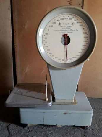 Весы торговые механические