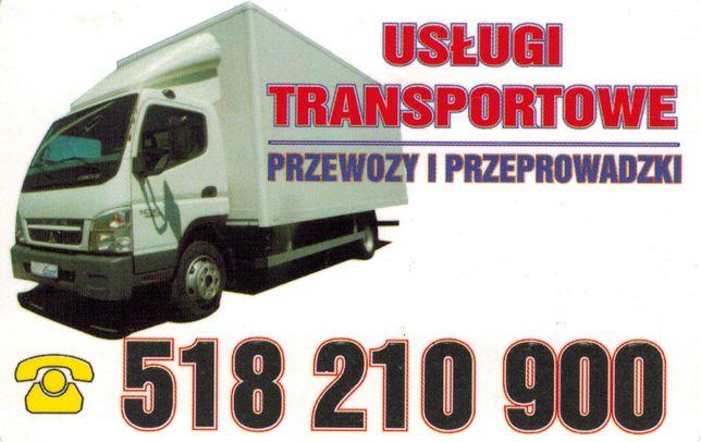 Usługi transportowe -Przeprowadzki Zgorzelec