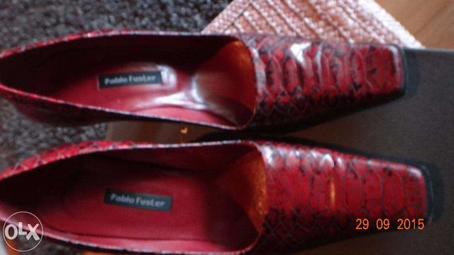 Sapatos Pablo Fuster