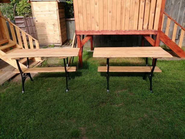 Stół ogrodowy drewniany dębowy