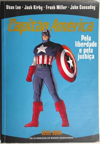 Livro - Capitão América - Pela liberdade e pela justiça - Série Ouro 1
