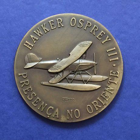 medalha Centro de Aviação Naval de Macau 1938:1942 - 80mm