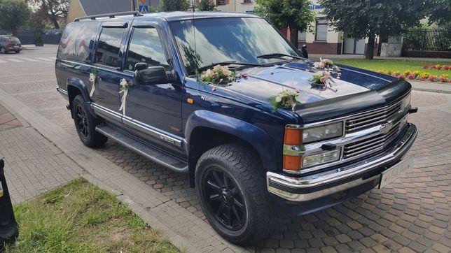 Auto do ślubu Chevrolet Suburban