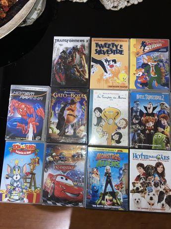 Pack Dvds animação
