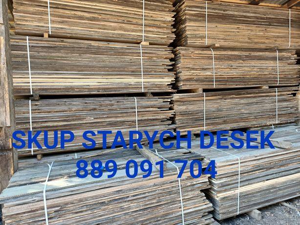 Skup starych desek stodół. Stare drewno