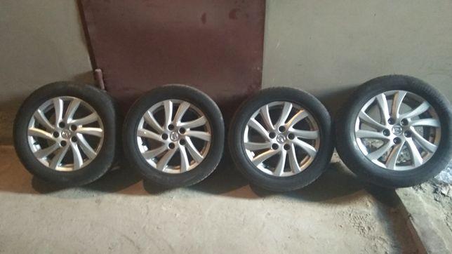 Диски + резина шини Mazda R-16 5*114.3, 205/55