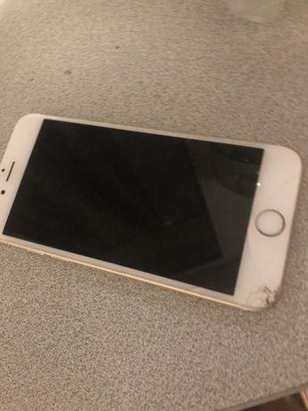 Iphone 6s złoty gold oryginalny uszkodzone wejscie ladowania