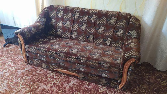 Диван раскладной + два кресла