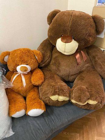 Купить плюшевый медведь, игрушка мягкая медведь 80 см, 150 см