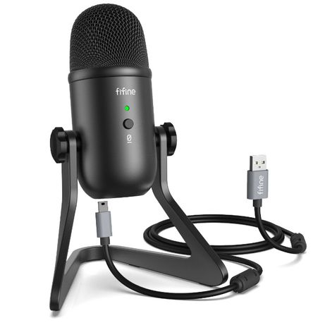 FIFINE K678 Студийный/Стримерский конденсаторный USB микрофон