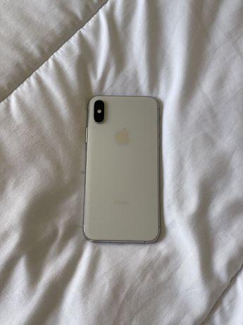 Iphone XS silver/prateado 64gb