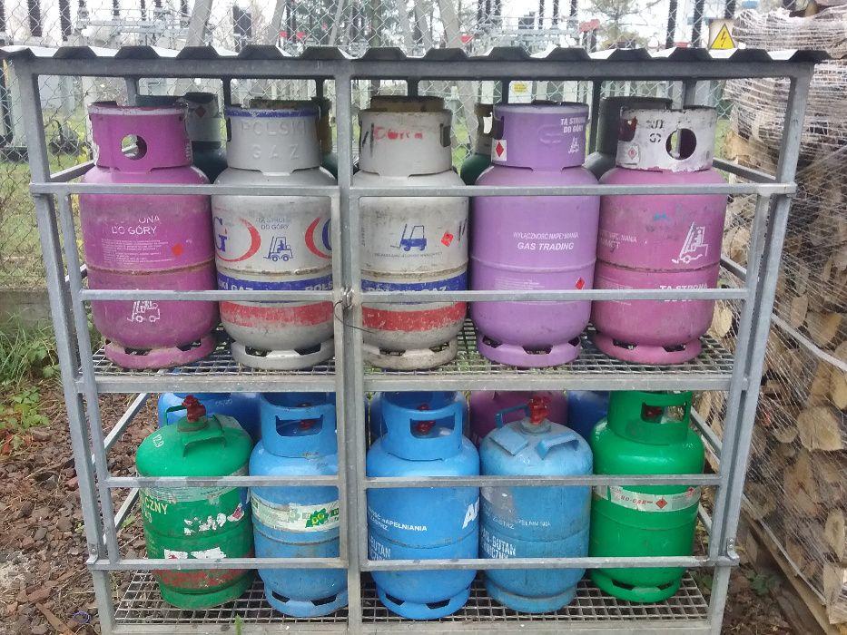 Gaz Propan-Butan w butlach 11 kg / w butlach do wózków Kraków - image 1
