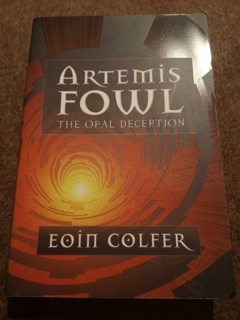 "AEoin Colfer ""Artemis Fowl The Opal Deception"""