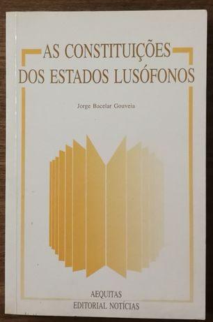 as constituições dos estados lusófonos, jorge barcelar gouveia