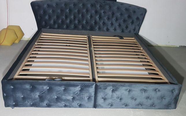 Łóżko sypialniane tapicerowane 180x200