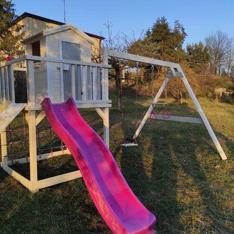 Drewniany plac zabaw, domek dla dzieci model SCOOBY-DOO