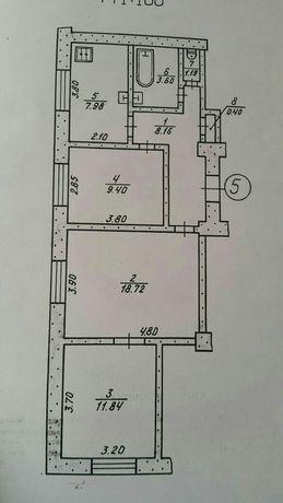 Квартира высокий габарит