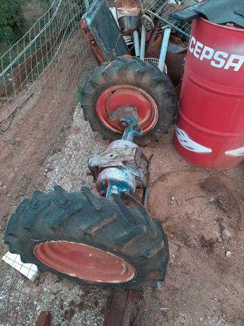 Eixo de tractor de varais