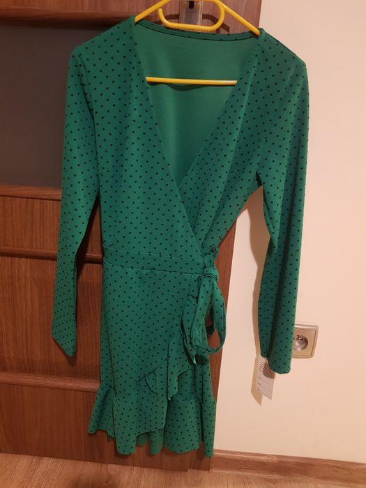 Zielona sukienka Wolsztyn - image 1