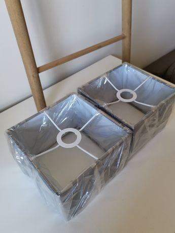 Abajures cinzentos 16 cm
