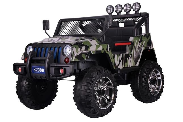 Jeep Moro 4x4 na akumulator dla dzieci