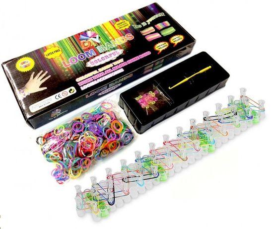 Новый набор со станком, плетение резиночками