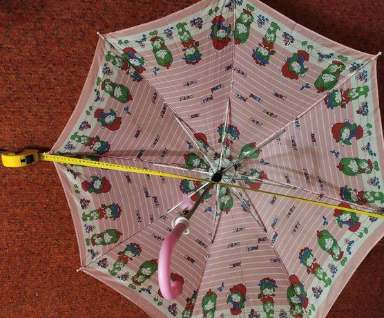 Продам детский зонт-трость, б/у, внутренний диаметр купола-785 мм.