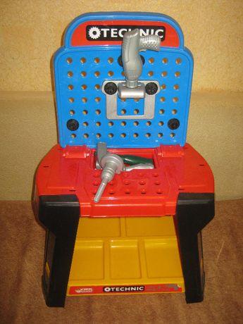 стол с инструментами для детей dede technic tool bench