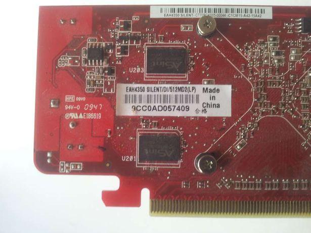 Grafica ATI EAH4350 Silent/DI/512Mb