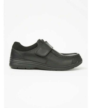 Buty pantofle półbuty dziecięce komunia wesele 36 23cm skórzane skóra