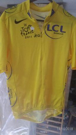 Camisola amarela tour de france 2011