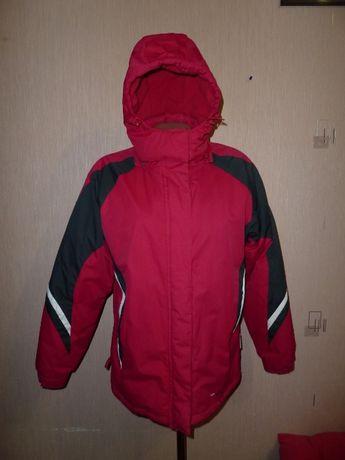 parallel Лыжная куртка р 12 хорошо утеплена + (спина и грудь) флис нал