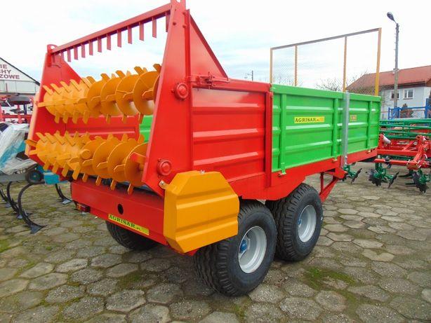 Rozrzutnik obornika 6 ton tandem, JOL-MET