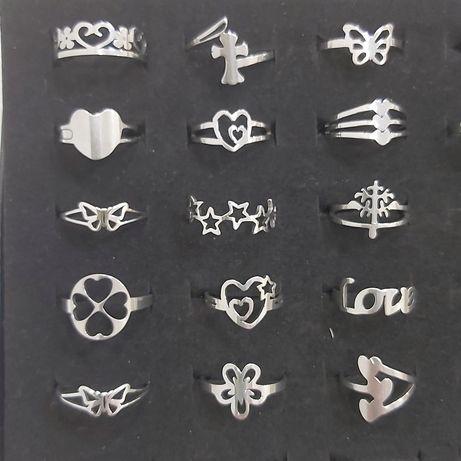 Anéis em aço inoxidavel