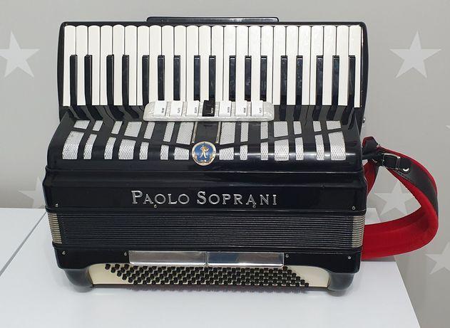 Akordeon Paolo Soprani 120 / idealny stan /