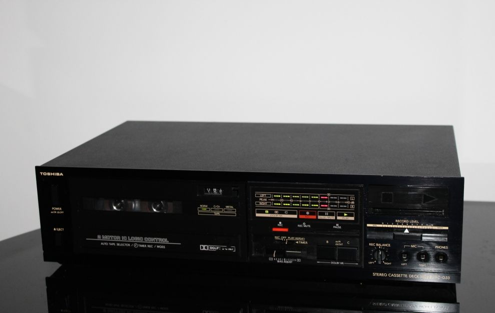 TOSHIBA PC-G33 Magnetofon deck audiofilski vintage stereo Wysyłka