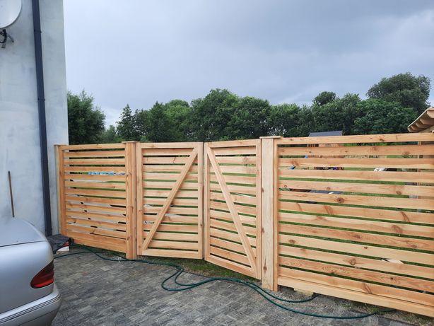Płoty bramy ogrodzenia