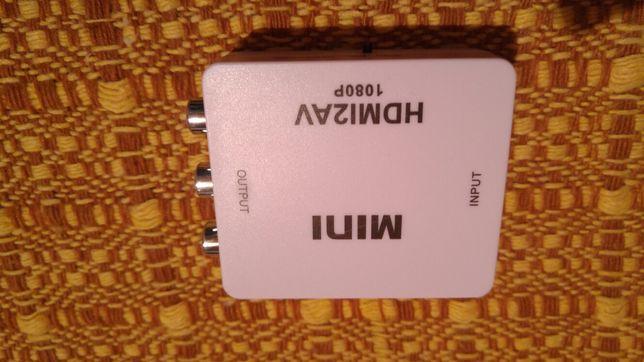 Konwerter HDMI do AV.