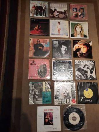 discos vinil 45 + vários antigos