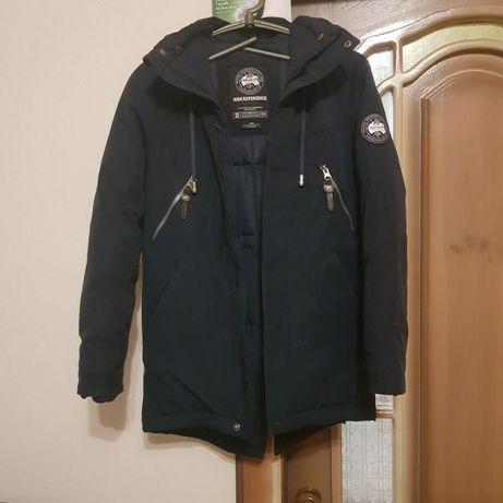Куртка зимняя мальчику, р146