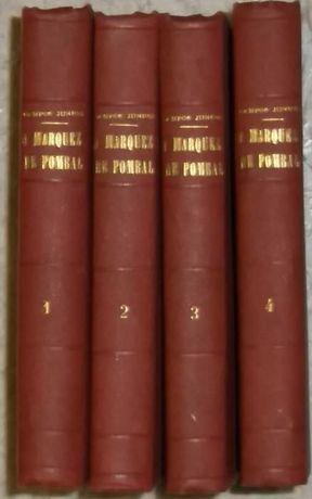 António de Campos Júnior, O Marquez de Pombal – Romance Histórico